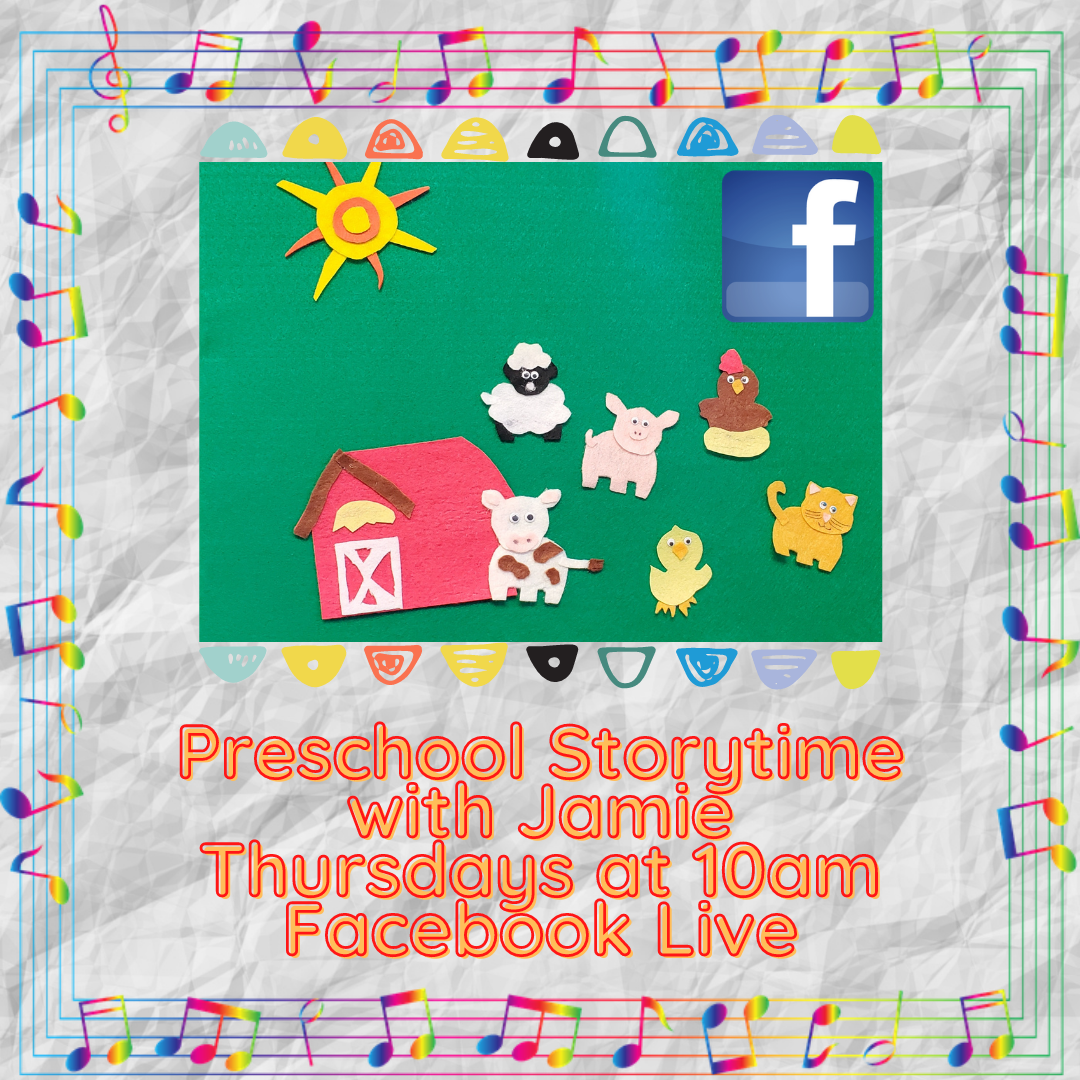Preschool Storytime with Jamie