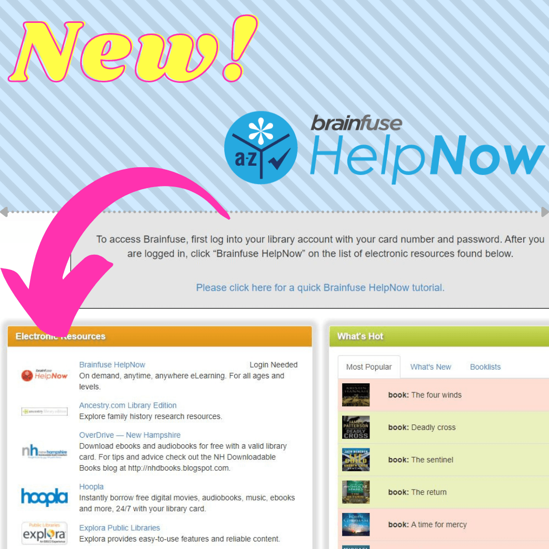 New BrainFuse HelpNow