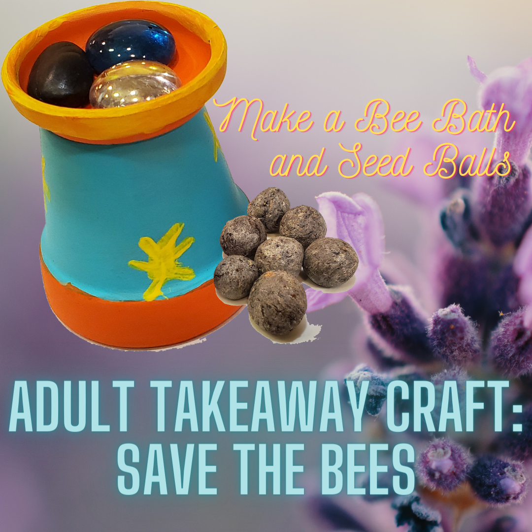 Adult Takeaway Craft Save the Bees